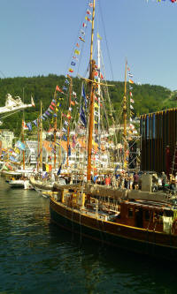 Tall Ship Races Bergen Norway